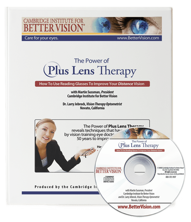 The Plus Lens Therapy Program